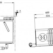 041 aircycle 1.1 Floor Mount Dimensions