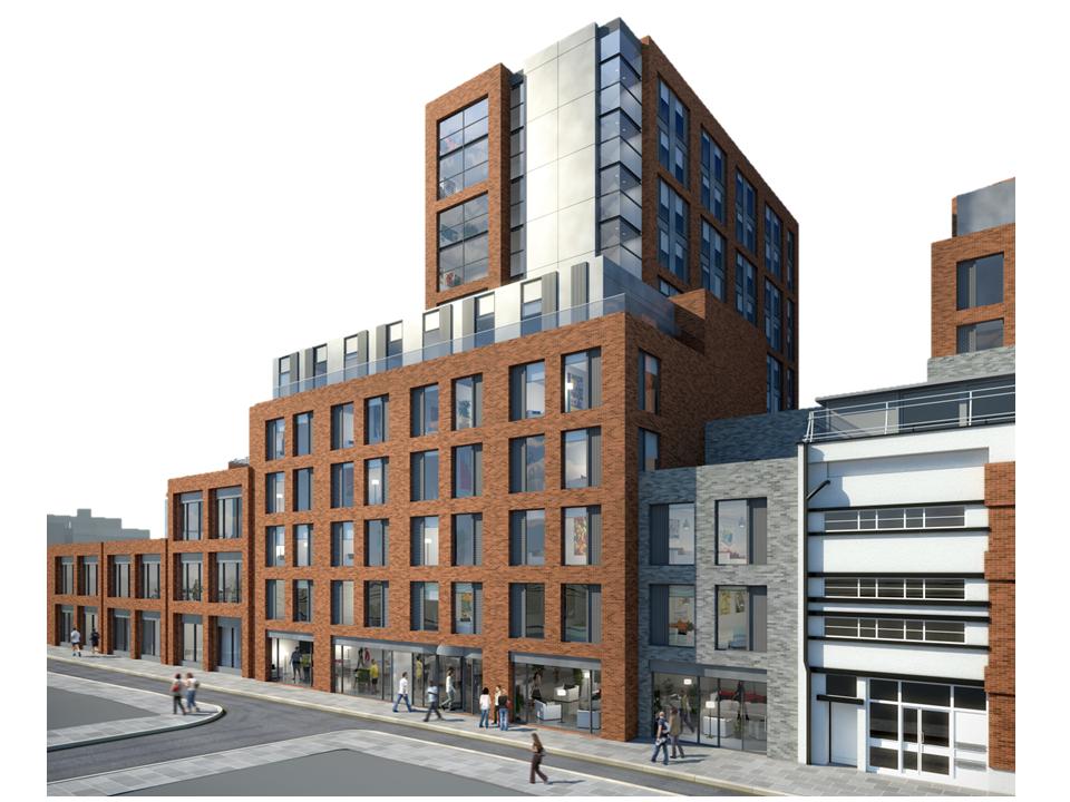 London City University building