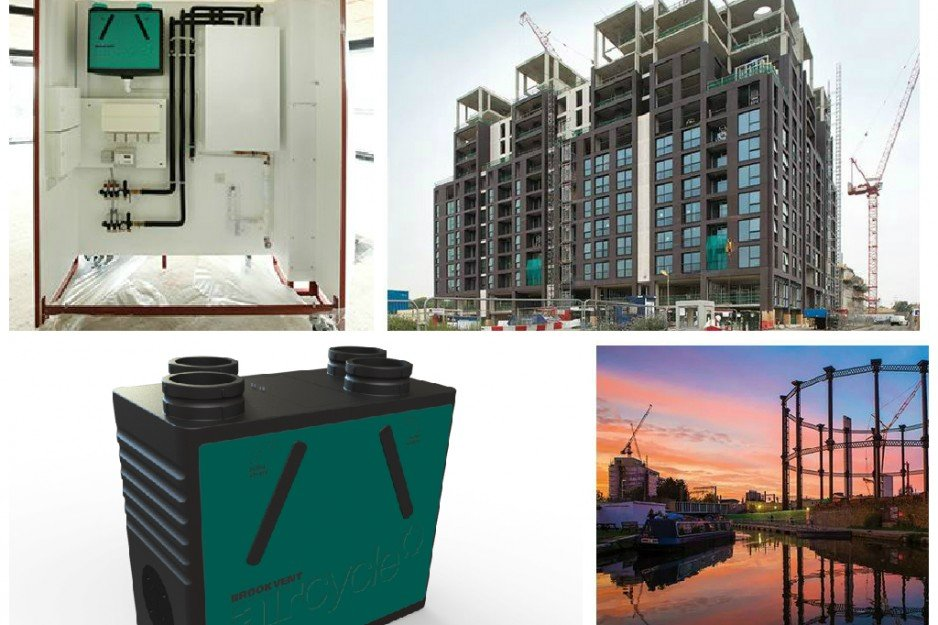 BROOKVENT aircycle 1.2 part of Offsite Construction innovation, London