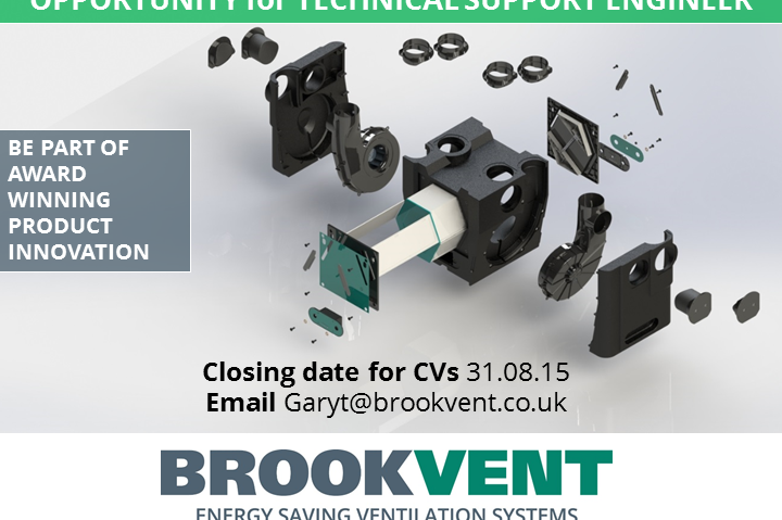 Techincal Support Engineer role with BROOKVENT
