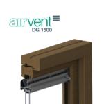 airvent DG 1500 glazed in window vent