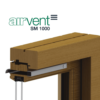 airvent SM 1000 surface mounted window vent