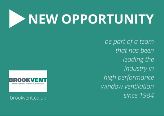 New Opportunity at Brookvent.co.uk