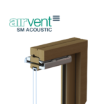 airvent SM Acoustic visual - surface mounted window vent