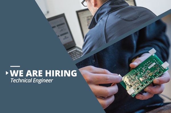 We are Hiring Technical Engineer