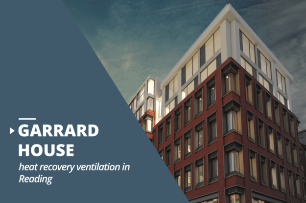 Garrard House heat recovery ventilation project in Reading