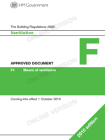 The Building Regulations 2000 - Ventilation