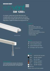 Airvent SM 1200+ 2018