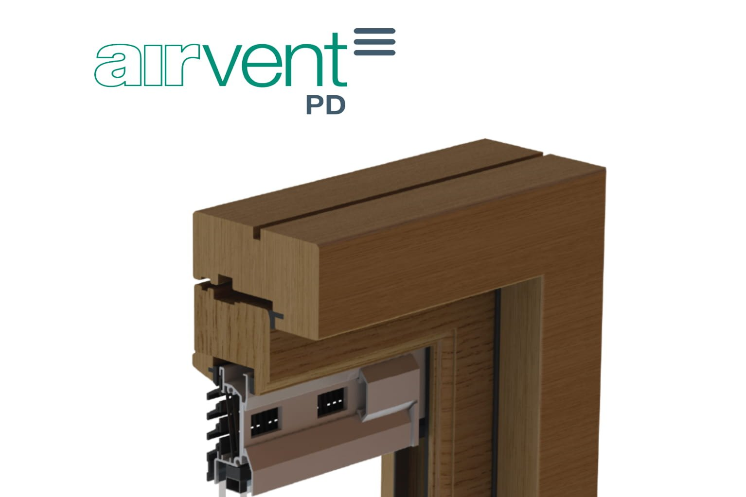 Airvent Pd Patio Door Slimline Glazed In Window Vent Brookvent
