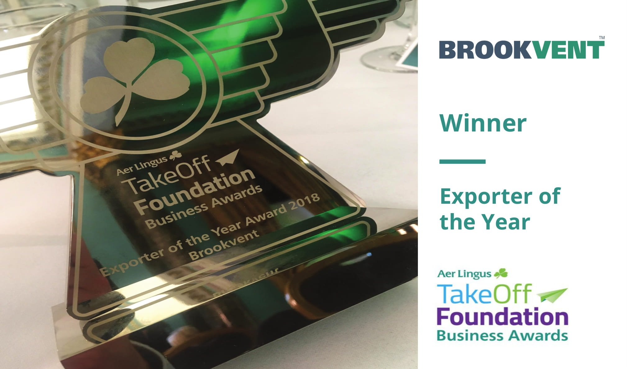 Broovent Awarded Exporter of the year