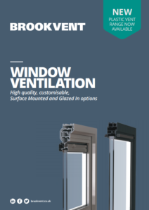 window vent brochure cover