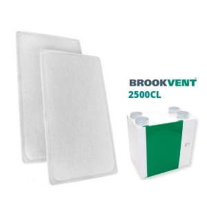 Brookvent 2500CL filter set
